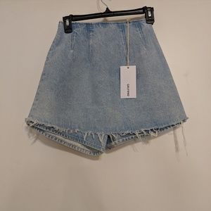 GRLFRND Edie Denim Skirt